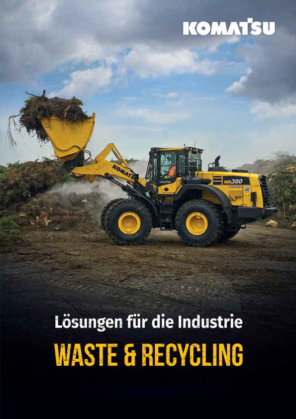 Wheel Loaders - Waste and Recycling