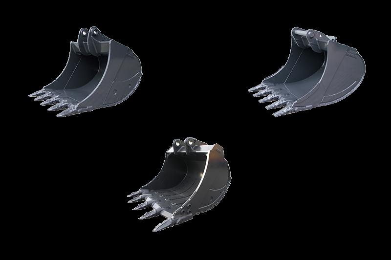benne di varie tipologie forche bilancini ed a ltri attrezzi di uso comune  Buckets5