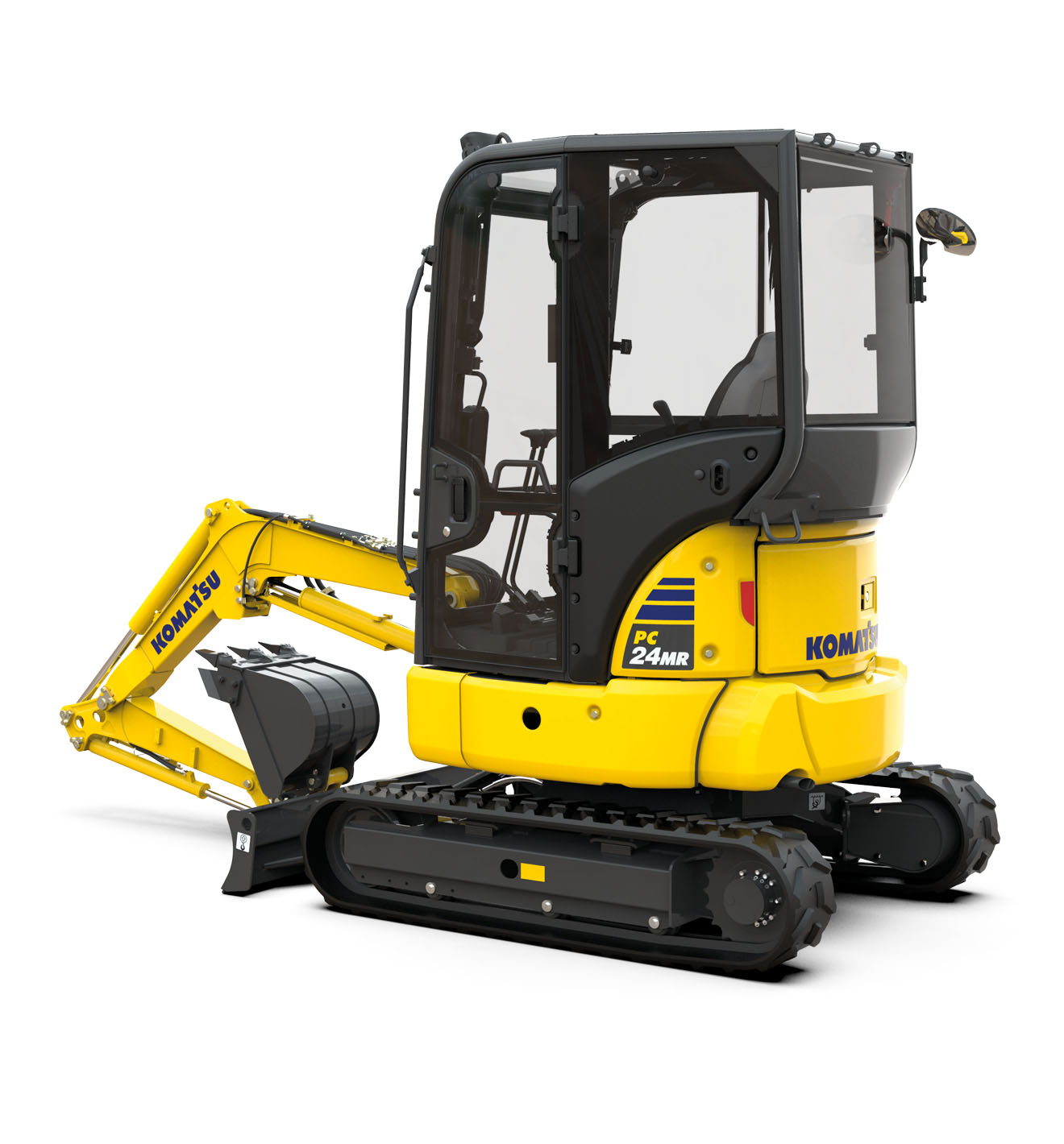Komatsu Europe Announces PC24MR-5 Mini Excavator
