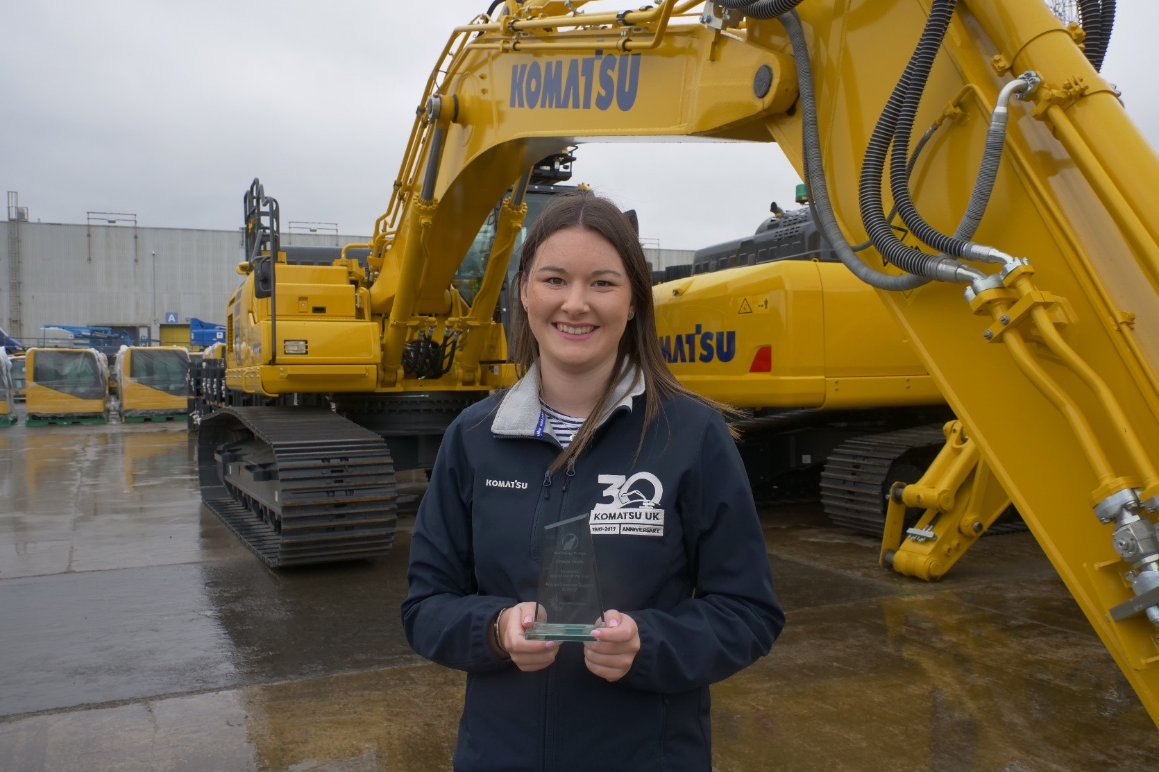 Komatsu UK's workforce