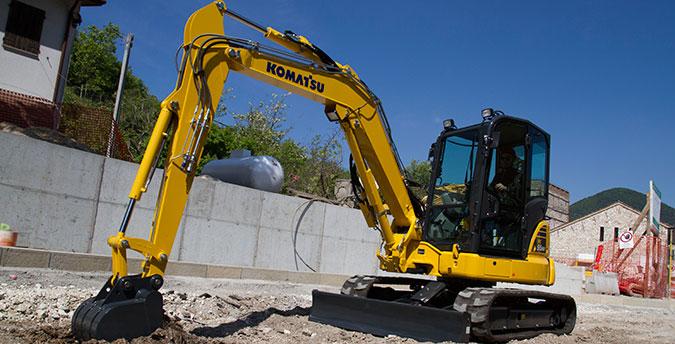 Komatsu Mini Excavator PC55MR-5