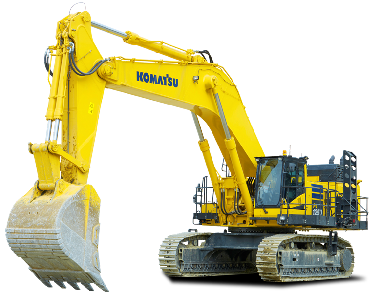 Запчасти Komatsu Standard Crawler Excavator PC1250-11 в России в наличие
